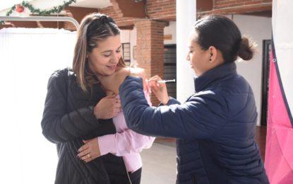 PREVIENEN ENFERMEDADES CON CAMPAÑA DE VACUNACIÓN EN DIF MUNICIPAL