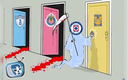 Empatan Chivas y Cruz Azul