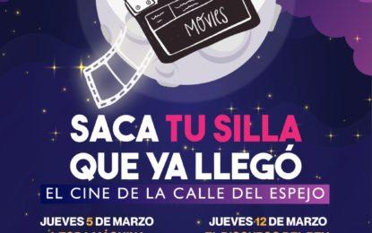 Este 5 y todos los jueves de marzo, disfruta del Cine en la calle Del Espejo