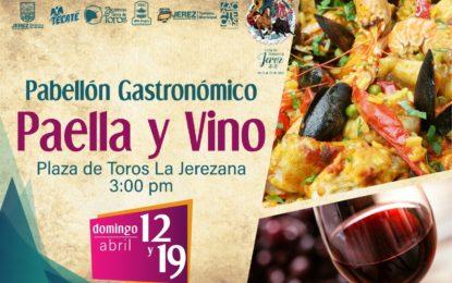 En la Feria de Primavera Jerez 2020, te espera una gran experiencia gastronómica en el Pabellón Paella y Vino