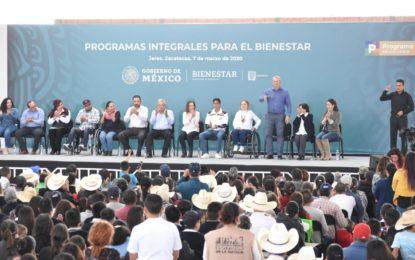 RECIBE JEREZ A ANDRÉS MANUEL LÓPEZ OBRADOR, PRESIDENTE DE LA REPÚBLICA