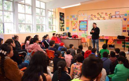 llegó la Caravana Cultura Escolar para fomentar la lectoescritura