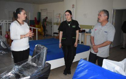DIF Municipal complementó el equipo de la Unidad Básica de Rehabilitación (UBR) para mejorar la atención de sus pacientes