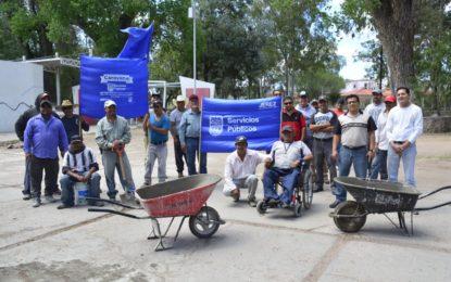 Gobierno Municipal de Jerez continúa con su estrategia para el mejoramiento de la imagen pública