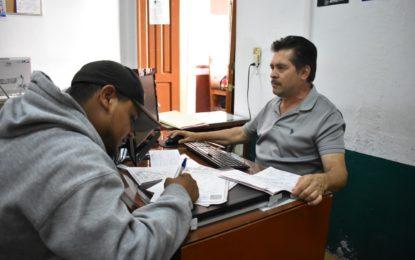 CON FILTRO SANITARIO, CONTINÚA SERVICIO DE REGISTRO CIVIL EN JEREZ