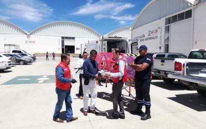El Instituto de Capacitación para el Trabajo de la Secretaría de Educación construyen cámara de aislamiento para la Secretaría de Salud de Zacatecas