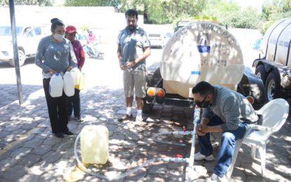 Con un total de 41 mil 500 litros repartidos, el Gobierno Municipal de Jerez concluyó la entrega de hipoclorito de sodio como una medida preventiva del COVID-19.